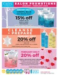 January / February Promotions